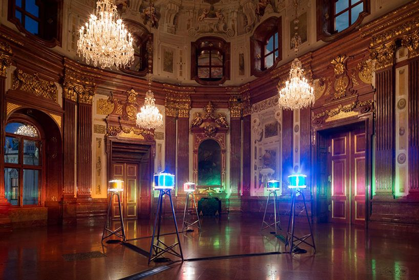 within one of the most magnificent baroque edifices in vienna, olafur eliasson presents 'baroque baroque', a selection of artworks from private collections.