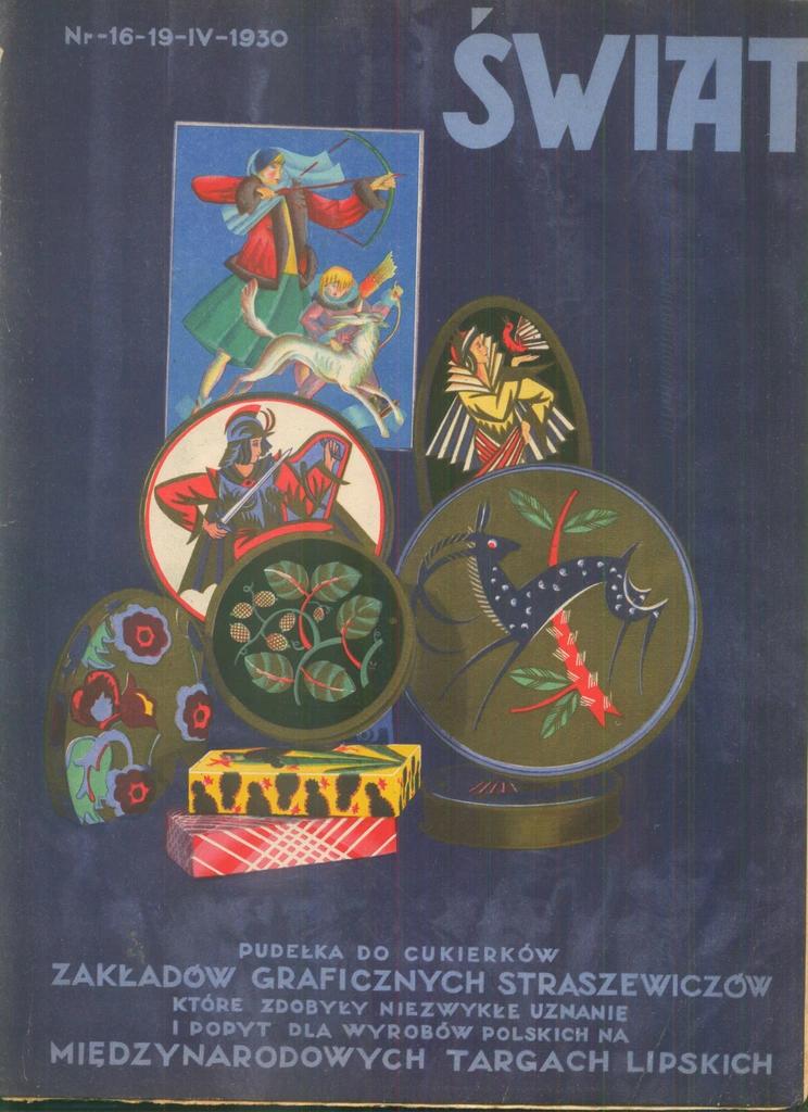 Zaklady Graficzne Straszewiczow Wilno Plastycy1930 8554760731 Oficjalne Archiwum Allegro Embroidery Enamel Pins