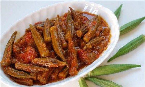 طريقة عمل خورشت بامية طبق ايراني طريقة Recipe Persian Cuisine Okra Stew Afghan Food Recipes