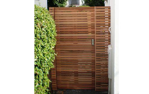 Bespoke Contemporary Wooden Garden Gates Essex Uk The