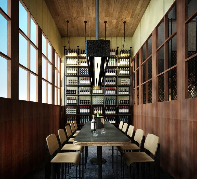 Melb. Shed 5\'sgreek restaurant private dining room, designed by ...