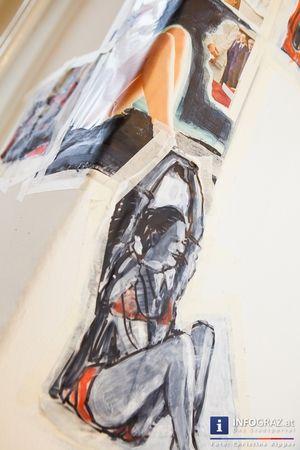 Bilder der Abschlusspräsentation des Arbeitsprozesses der projektorientierten Arbeitsgemeinschaft EINBLOCK mit Herbert Soltys, Willy Rast und Erwin Michenthaler.  #Bilder, #Abschlusspräsentation, #Arbeitsprozess, #projektorientierte #Arbeitsgemeinschaft #EINBLOCK, #Herbert #Soltys, #Willy #Rast, #Erwin #Michenthaler, #temporäres #Atelier, #Patrick #Schnabl, #dialogische #Begegnung, #bildnerische #Berichterstattung, #bildende #Kunst,   #Kunstprozess, #Brüsseler #Korrespondenz II