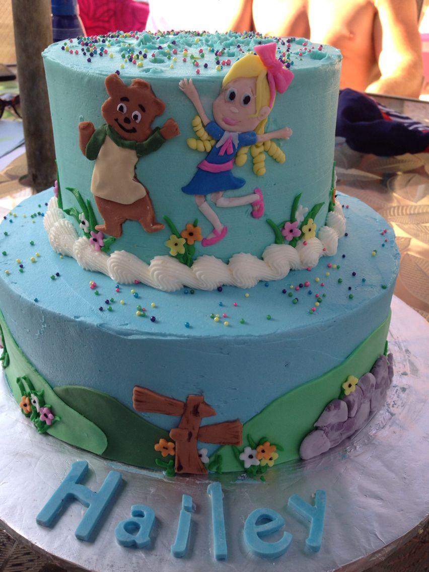 Goldie And Bear Birthday Cake Goldie And Bear Pinterest - Bear birthday cake