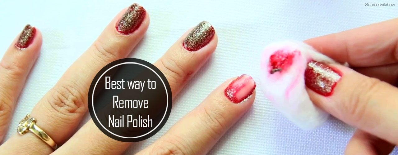 Best way to remove nail polish without remover nail