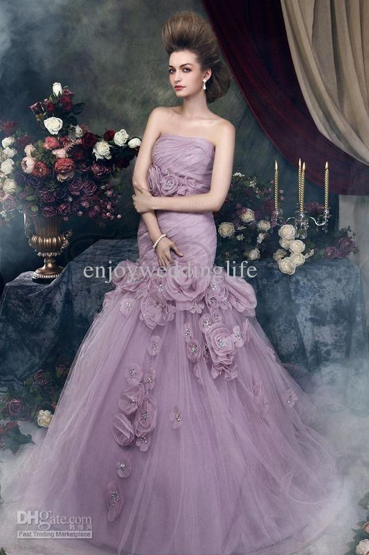 Custom Size Color Bridesmaid Wedding Prom Party Gown Formal