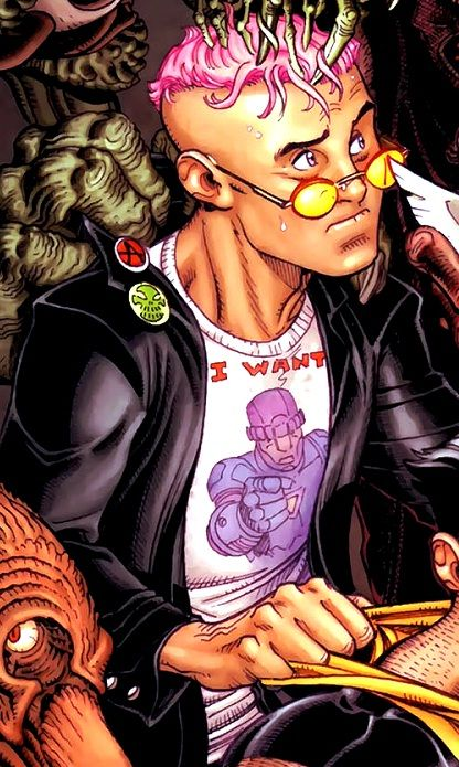 Kid Omega Quentin Quire Marvel Kids Klarion The Witch Boy X Men