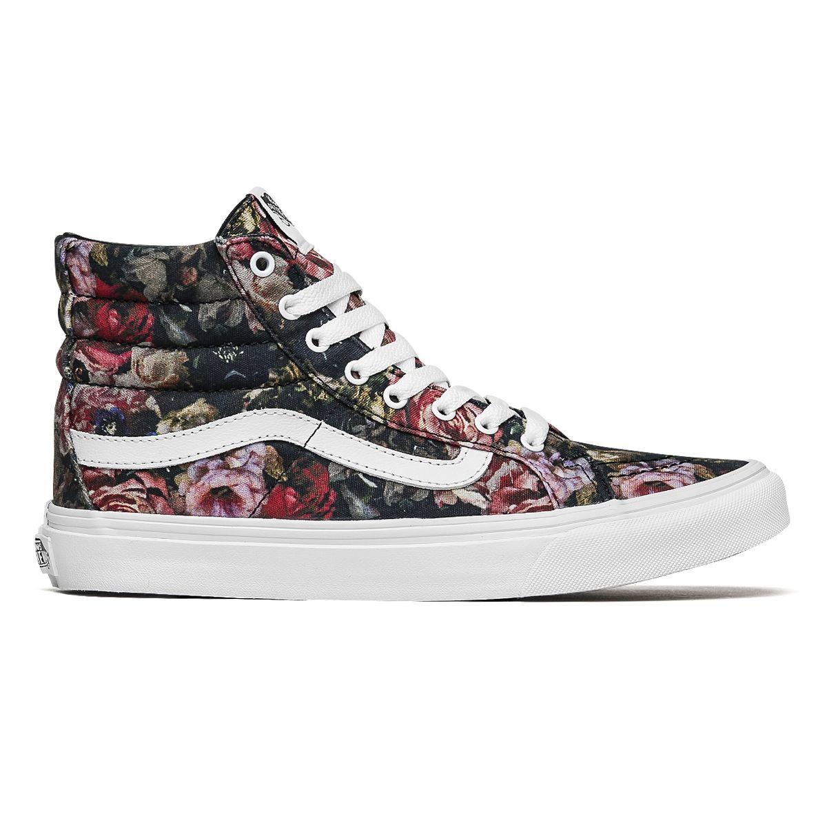 1a2023feec Tênis Vans SK8-HI Moody Floral - Maze  Skate Shop