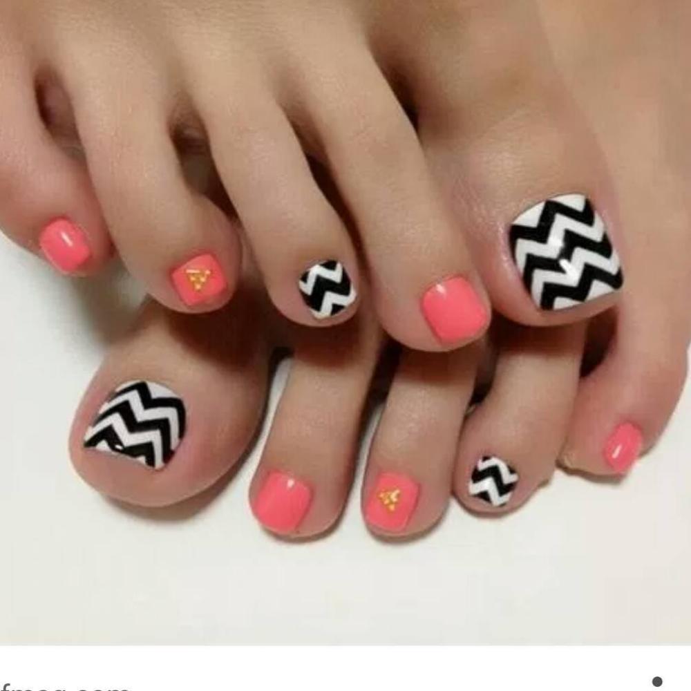 50 Cute Summer Toe Nail Designs To Flaunt Pretty Nails Cute Toe Nails Toe Nail Designs Toe Nails