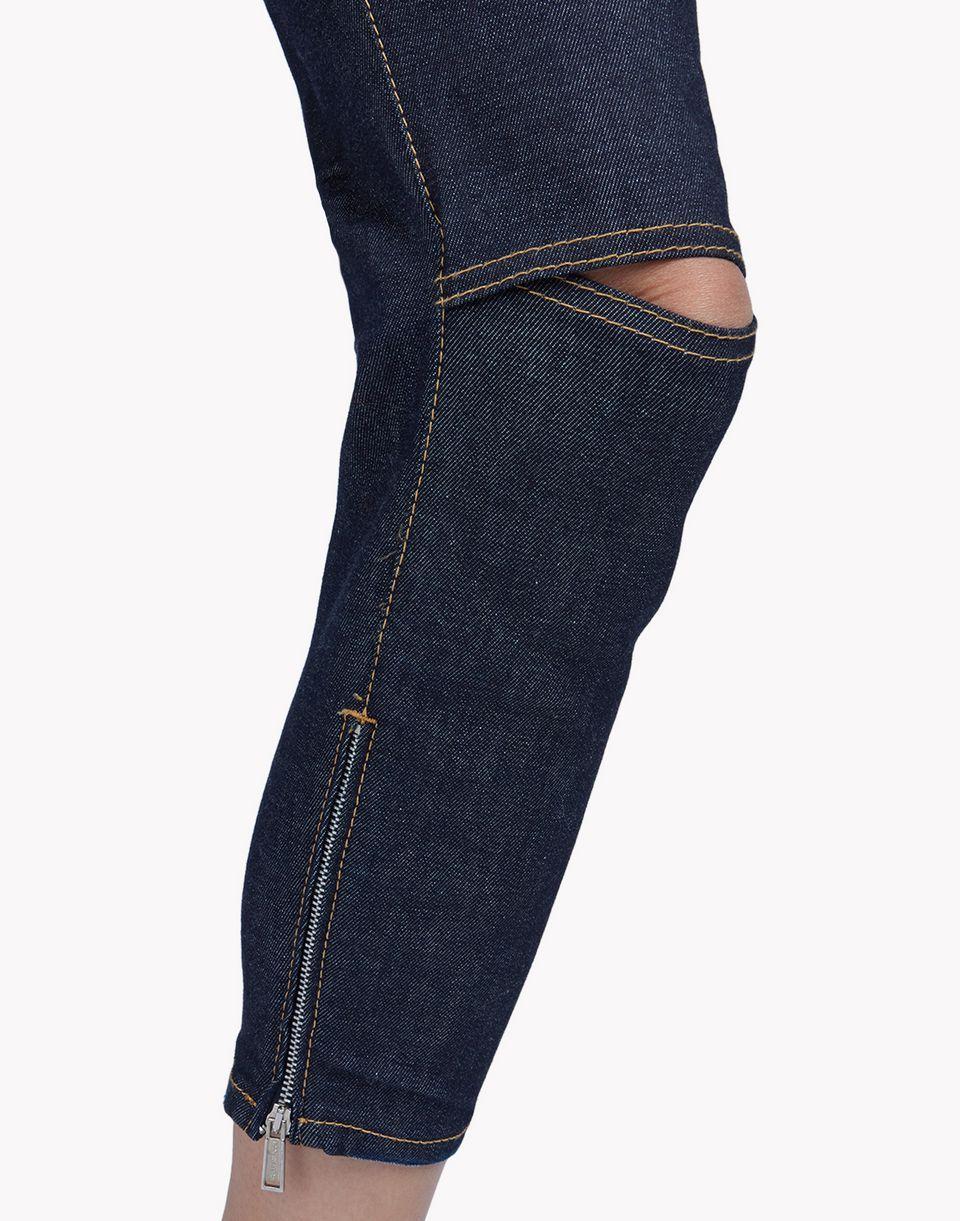 Medium waist skinny cropped jeans denim woman dsquared denim