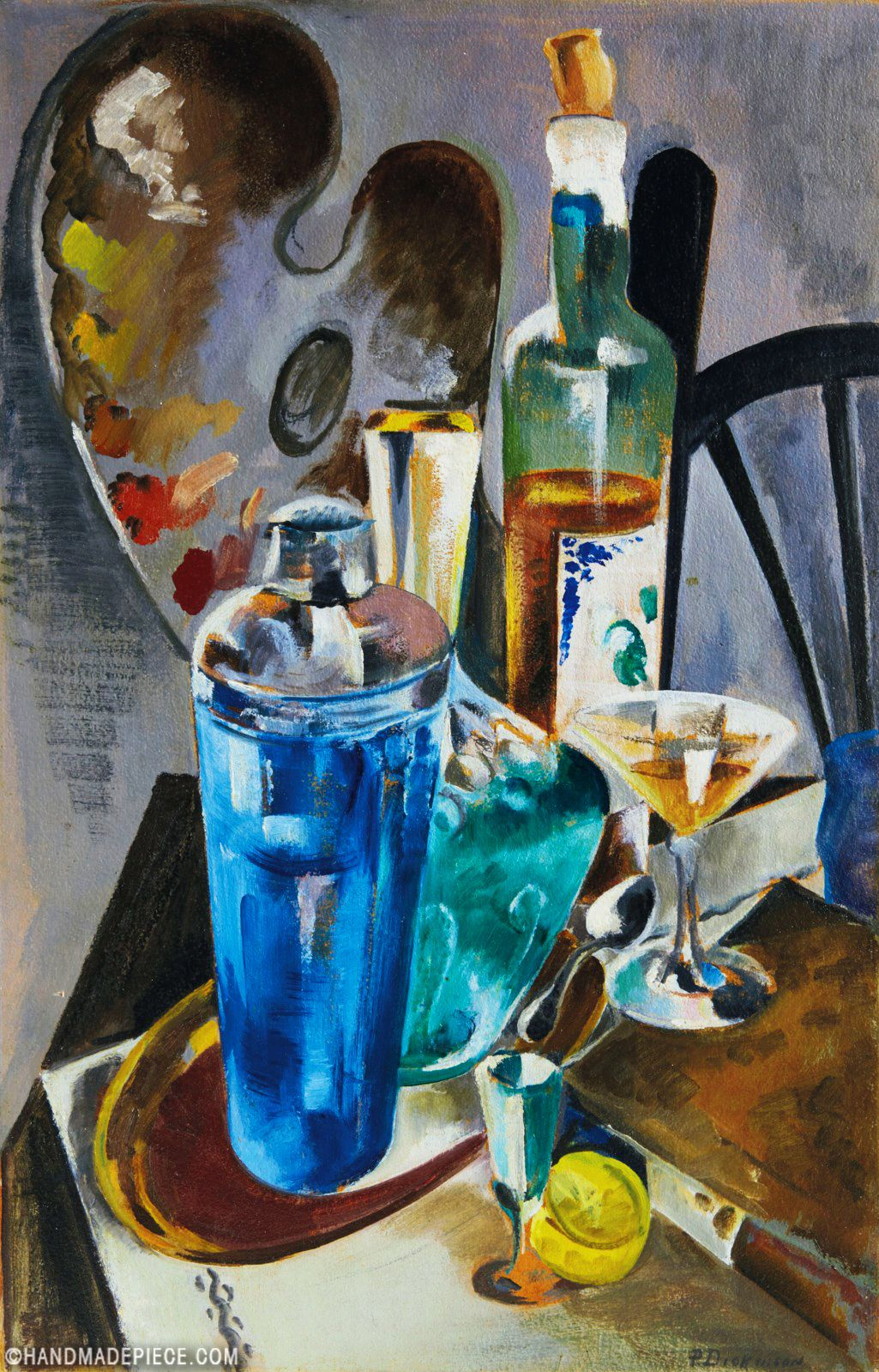 The Artist's Table in 2020 Oil painting gallery, Famous