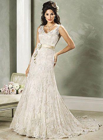 Novia actual: Vestidos de Novia con encaje | boda | Pinterest ...