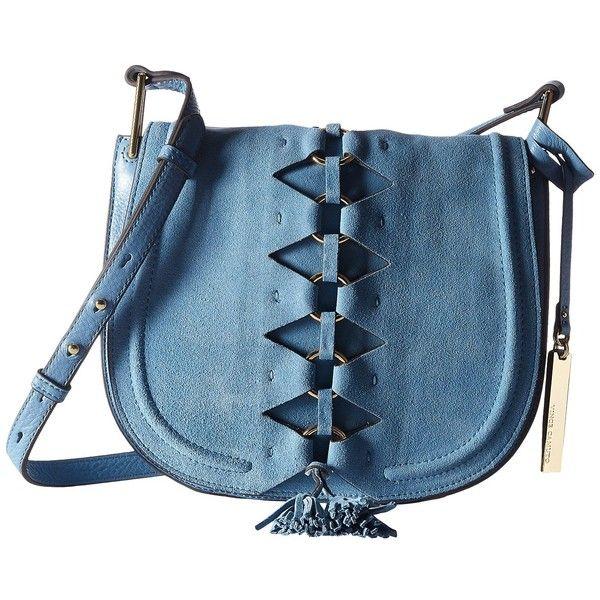 Vince Camuto Ancel Flap (Blue Heaven) Handbags