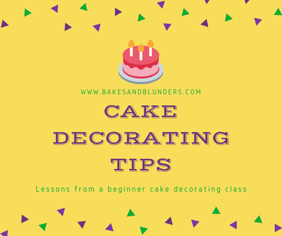 Tips From a Beginner Cake Decorating Class | Cake ...