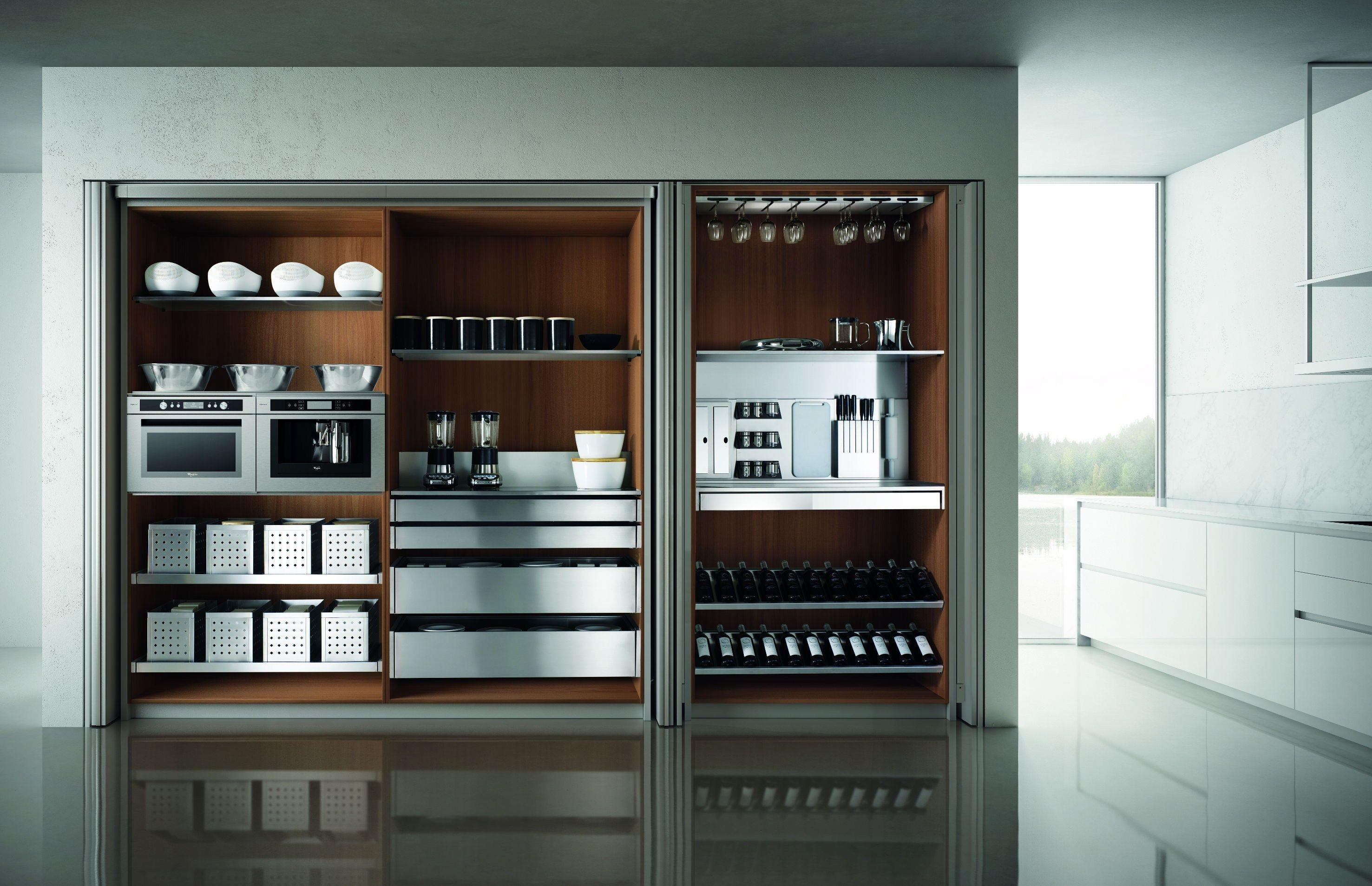 DOMINA Kitchen with island by Aster Cucine design Lorenzo Granocchia ...