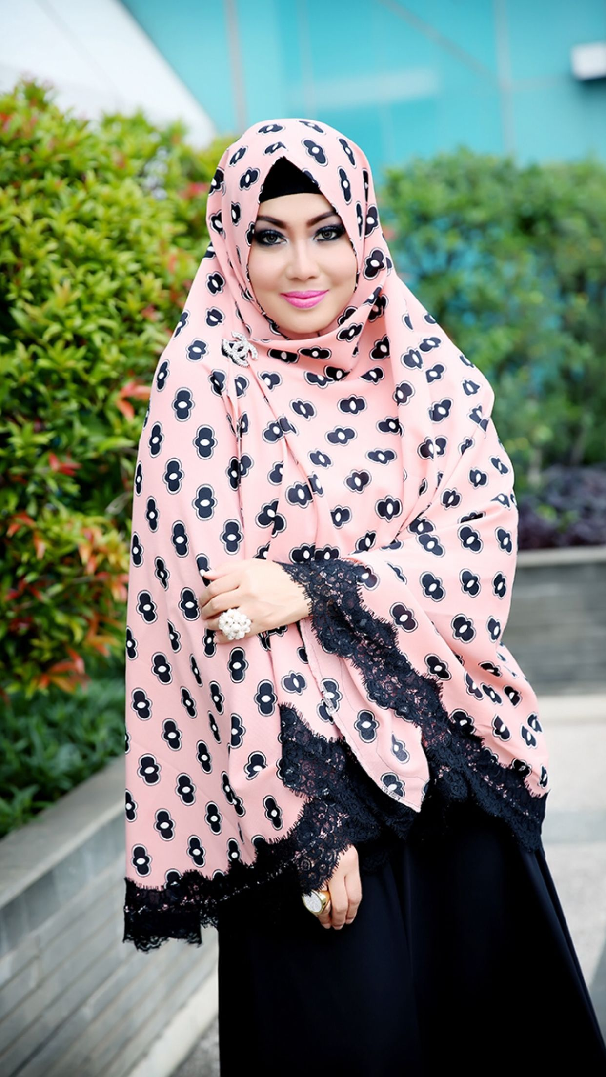 Leila Rose Abaya Is Fashioned Out Of Satin Crepe Fabric Featuring