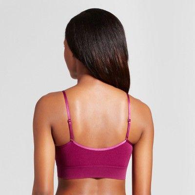 224972a182310 Jky by Jockey Women s Seamfree Cami Strap Bralette - Magenta (Pink ...