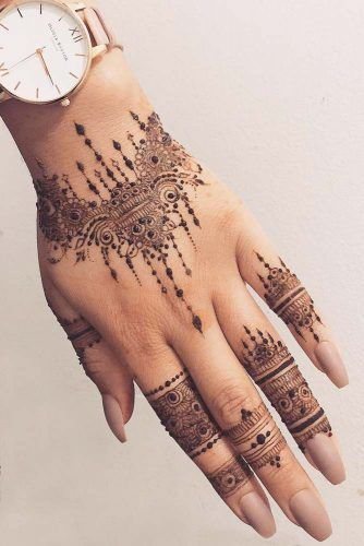 39 Henna Tattoo Designs: Beautify Your Skin With The Real Art