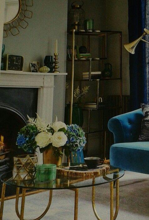 Ella U Coffee Table GBP395 And Chain Link Mirror GBP190 Both Graham Greene