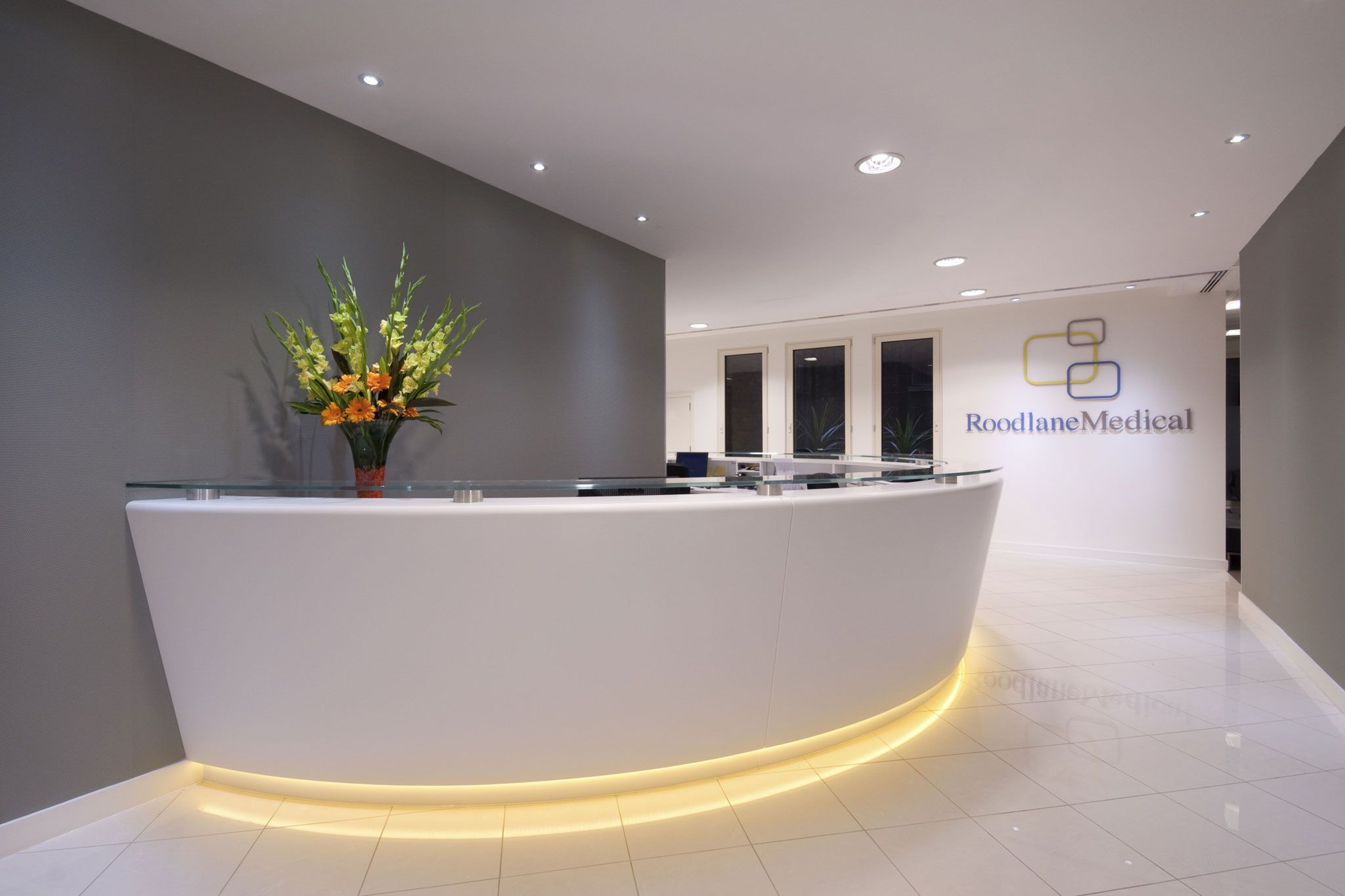 Roodlane medical 60 new broad street office design for Medical design consultancy