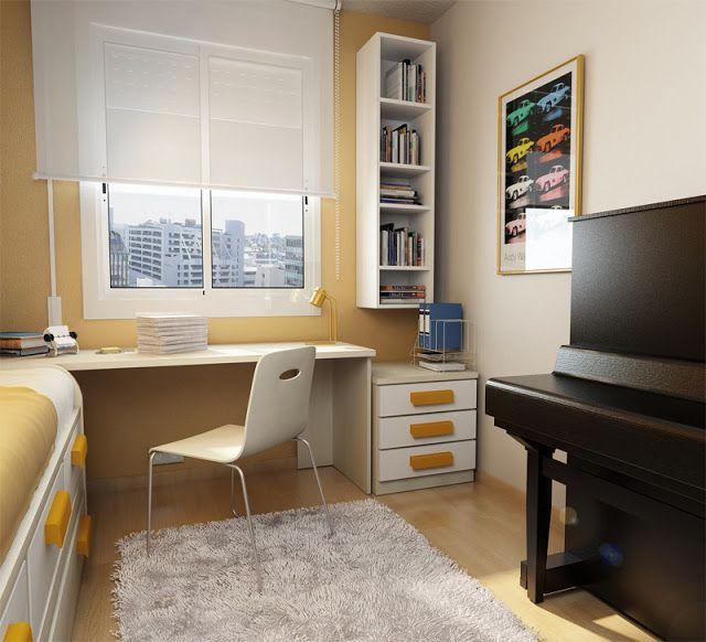 40 amazing teenage bedroom layouts home design small room rh pinterest com