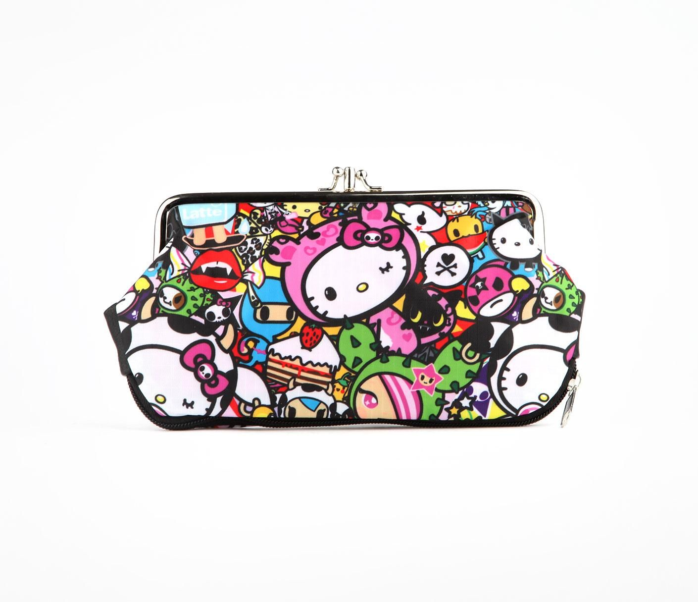 6b2340b19cb tokidoki x Hello Kitty Kisslock Wallet  Reunion   HeLlo KiTty ...