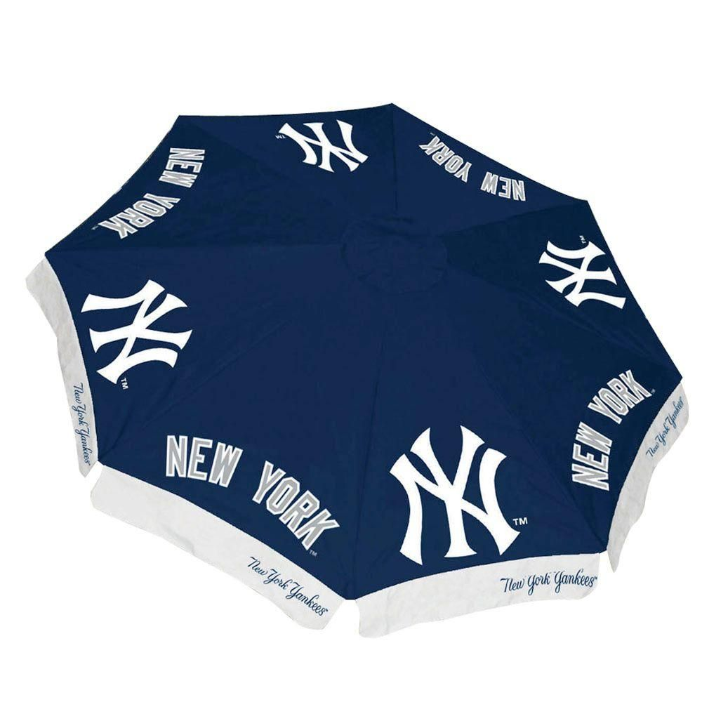 d781d4a78d56f9 Team Sports America New York Yankees 9 ft. Patio Umbrella in Blue ...