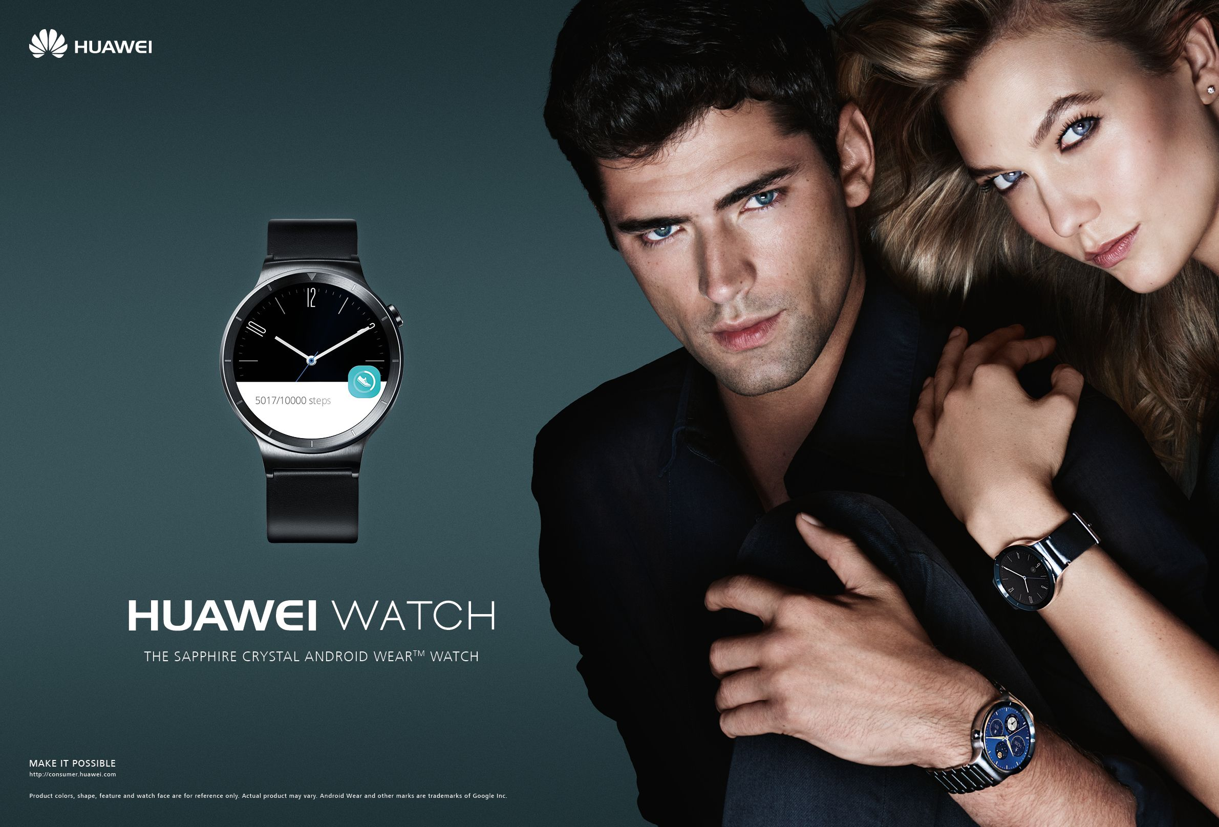 2015 Kloss Watch Campaign Sean Star In O'pryKarlie Huawei nwP80kOX