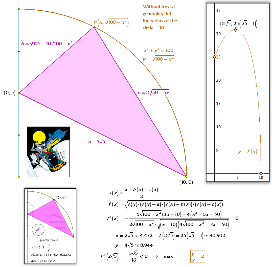 Solved Byytical Geometry Heron S Formula And