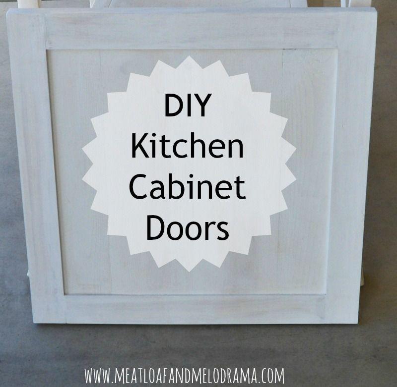 How We Built Our Kitchen Cabinet Doors Kitchen Cabinet Doors