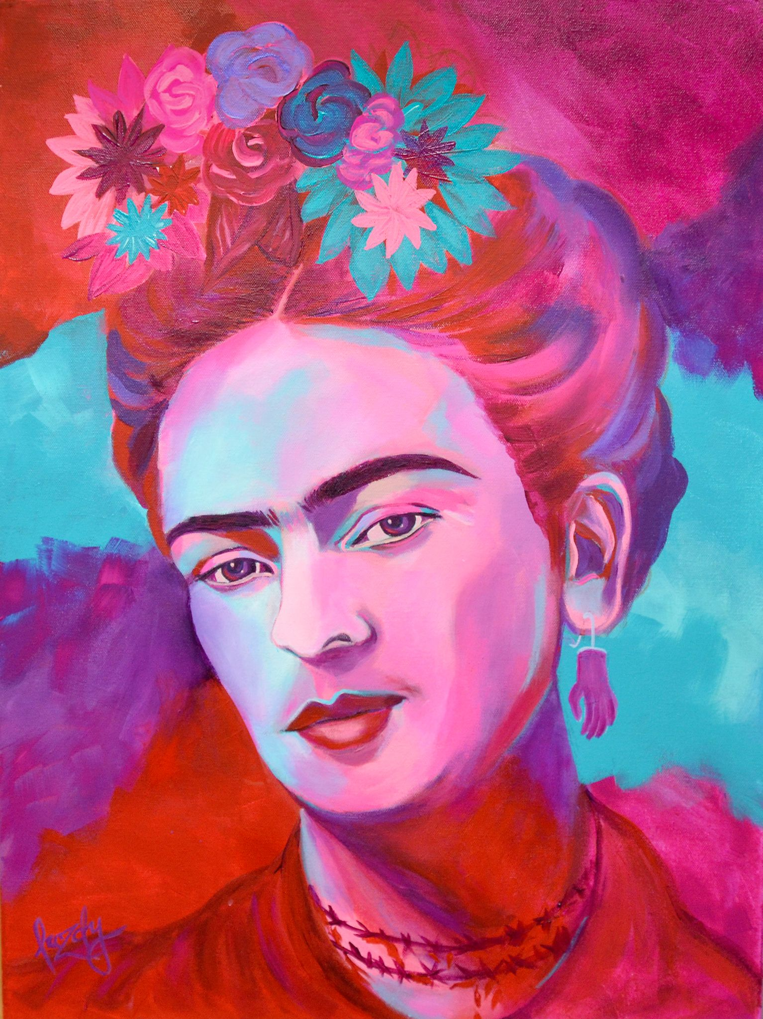 Frida Kahlo Pinturas Frida Kahlo Abstract Realism Painting Portrait Painting