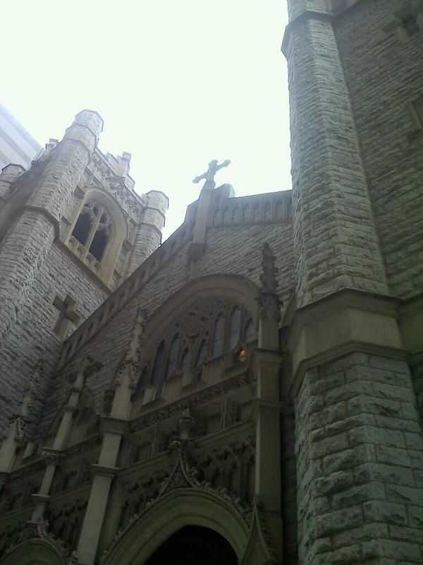 The architecture is beautiful here. St. John's the Evangelist Catholic Church, Philadelphia. 1830.