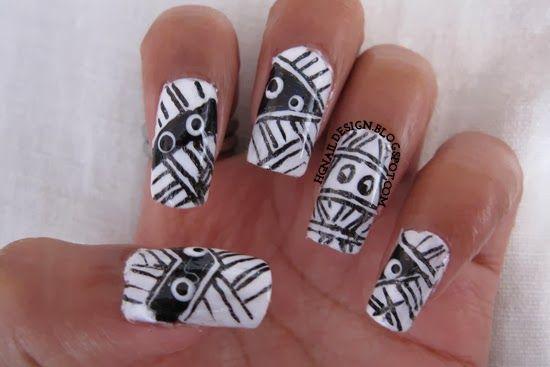HG Nail Design: Mummy On My Nails