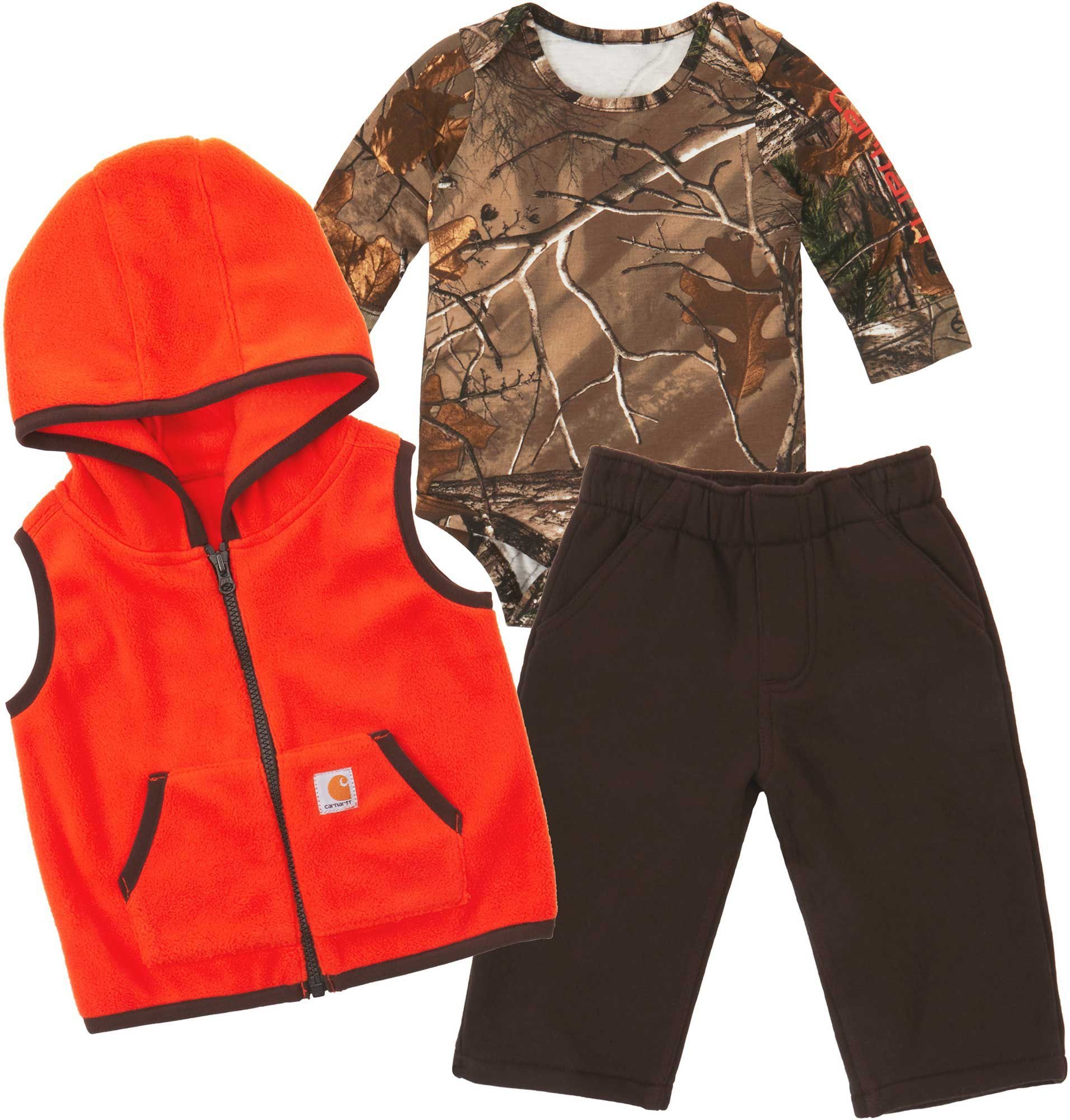 9e2c26995 Carhartt Infant Camo 3-Piece Gift Set, Size: 24M, Brown | Products ...
