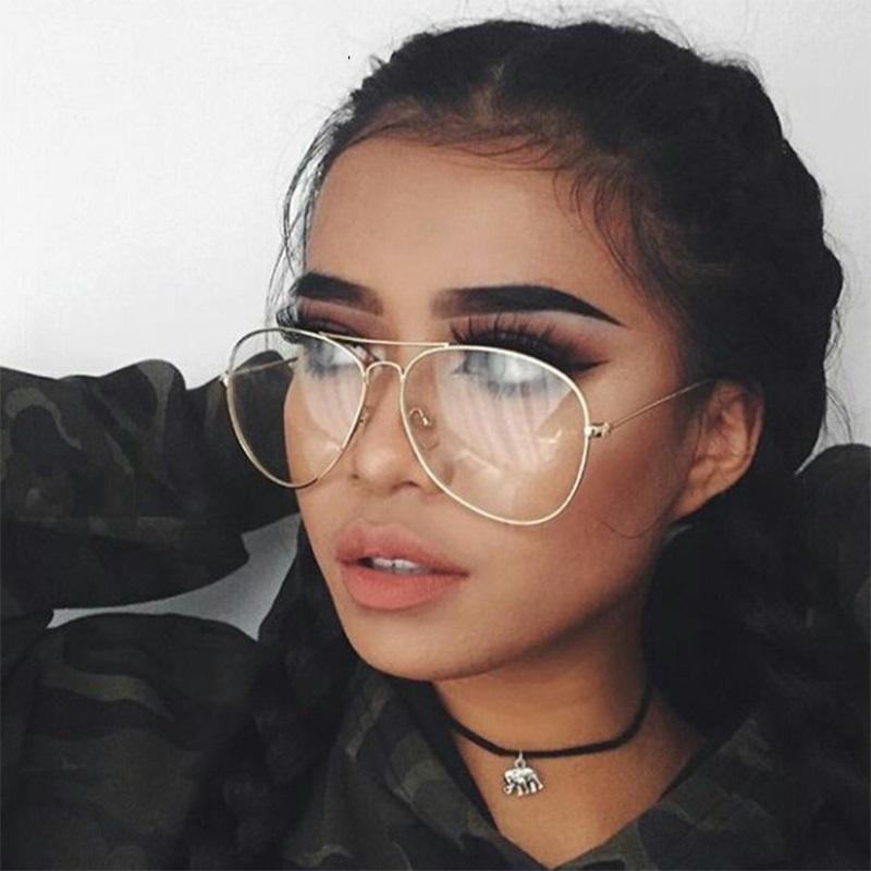 c24fe5863da8a New Designer Woman Glasses Optical Frames Metal Round Glasses Frame Cl –  KOREAIDOLFEVER