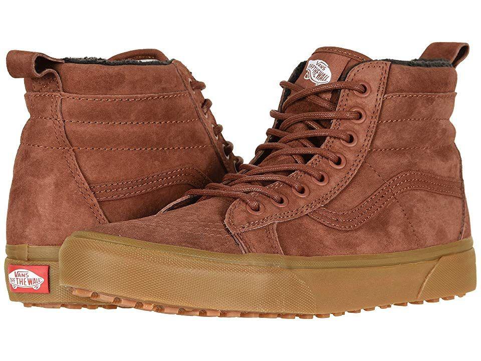 f983e72eadebce Vans SK8-Hi MTE ((MTE) Sequoia Gum) Skate Shoes. Keep your favorite ...