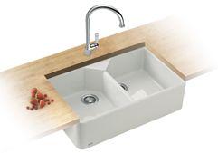 Franke By Villeroy Boch Belfast Ceramic Sink And Tap In Chrome