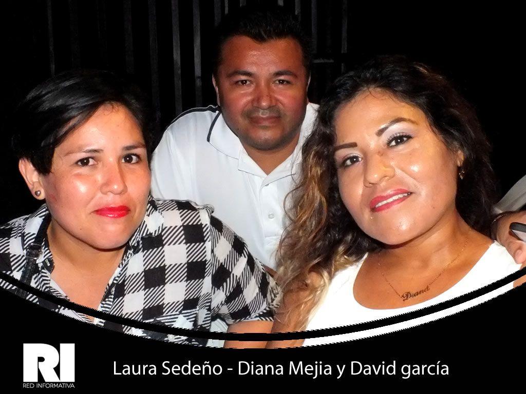 Laura Sedeño - Diana Mejia y David garcía   \