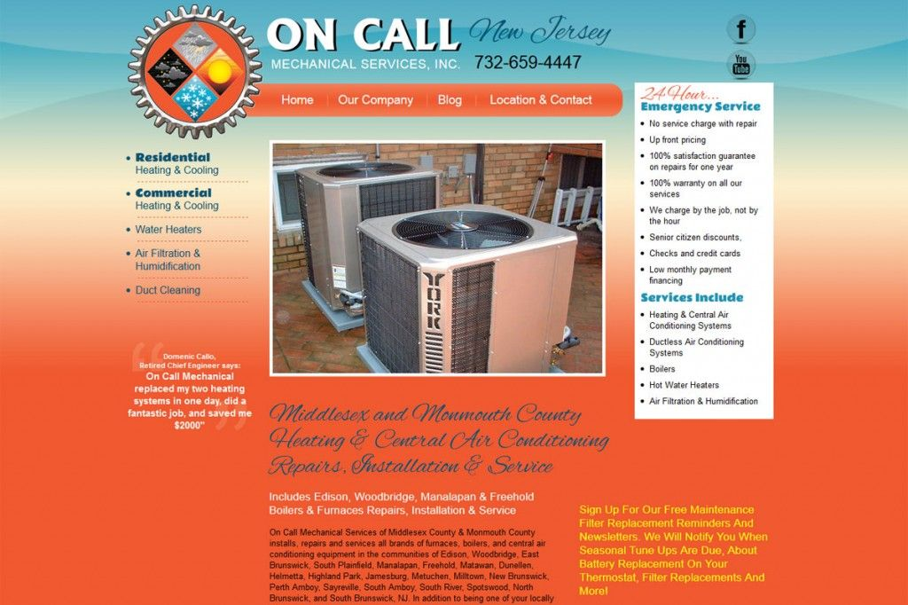 On Call New Jersey Mechanical Services, Inc. Air