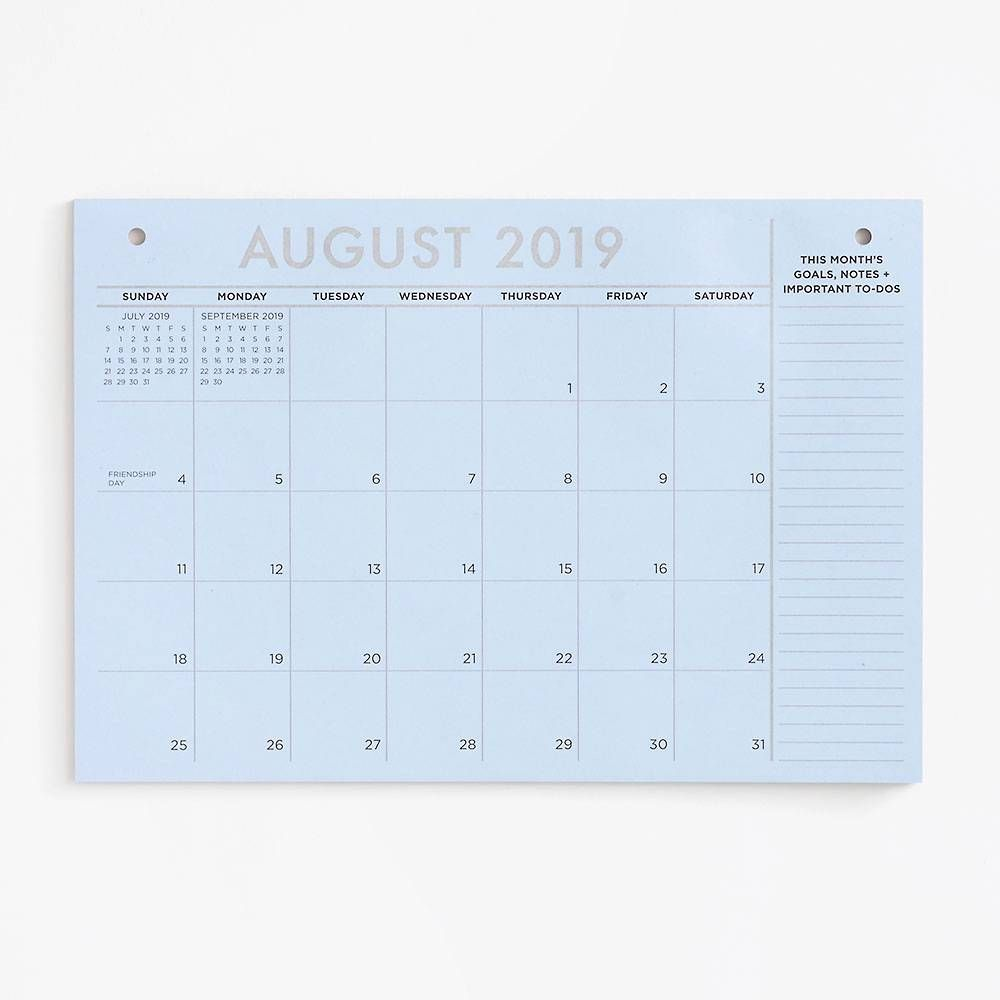 Paper Source Calendar 2020 2019 2020 Colorful Blotter Calendar | Make Big Plans   Planner