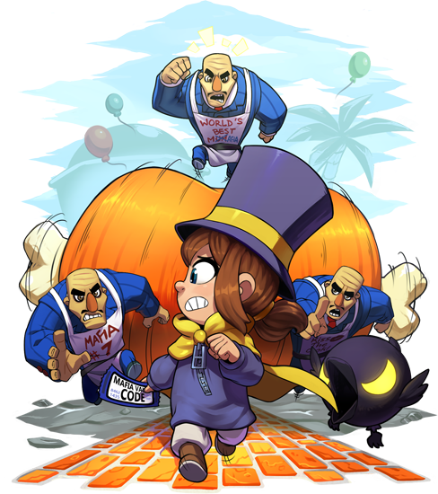 Hat Kid A Hat In Time Time Art Hats
