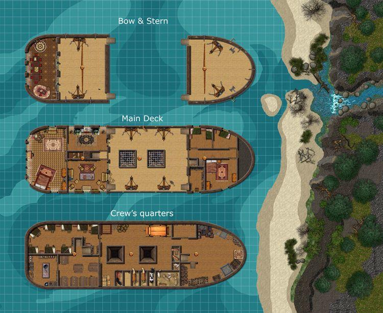 Related Image Fantasy Ship Plans Pinterest RPG