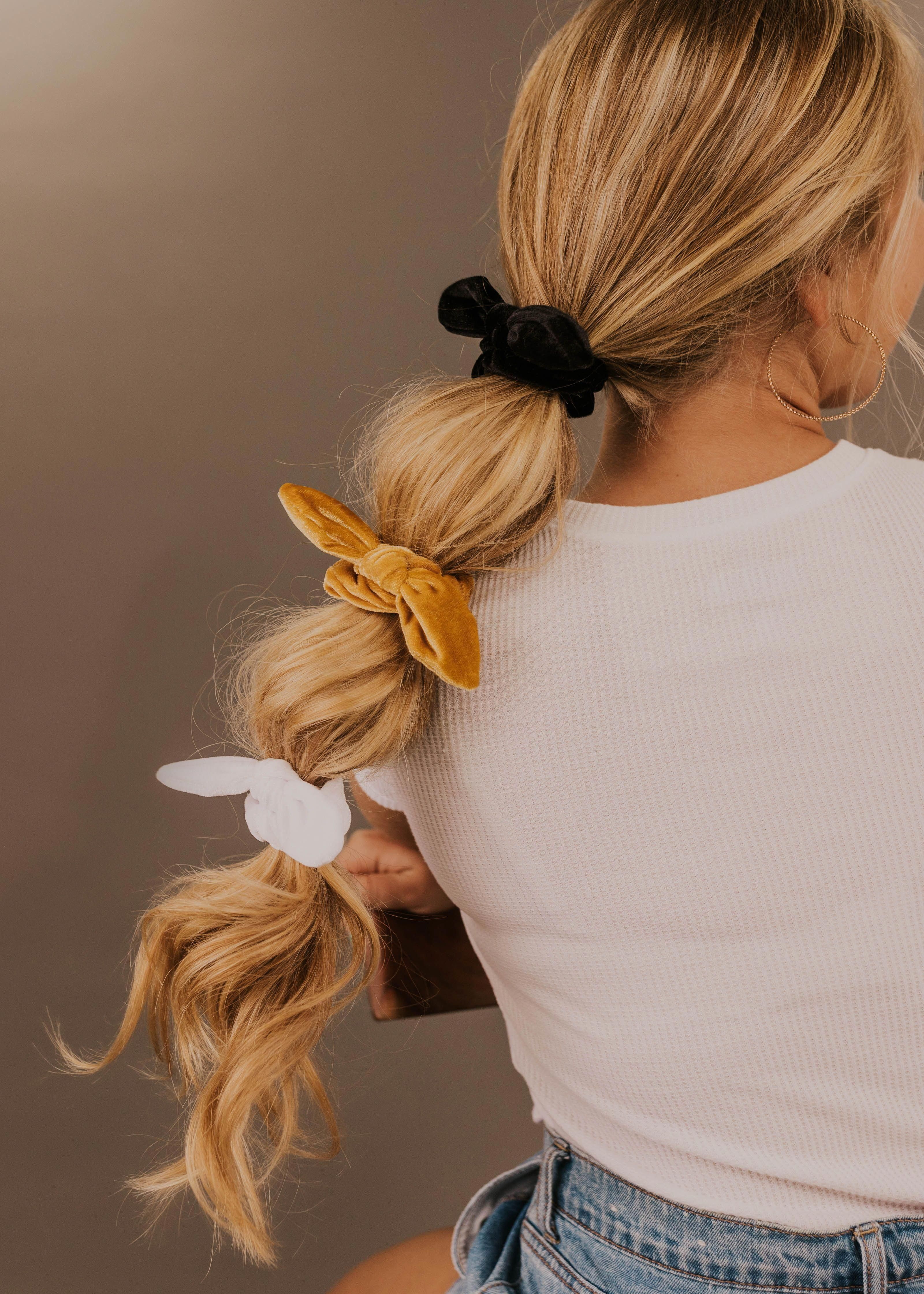 Harvest Knot Scrunchie Set