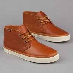 b609e208082be4 Vans Chukka Decon CA (Leather) Brown