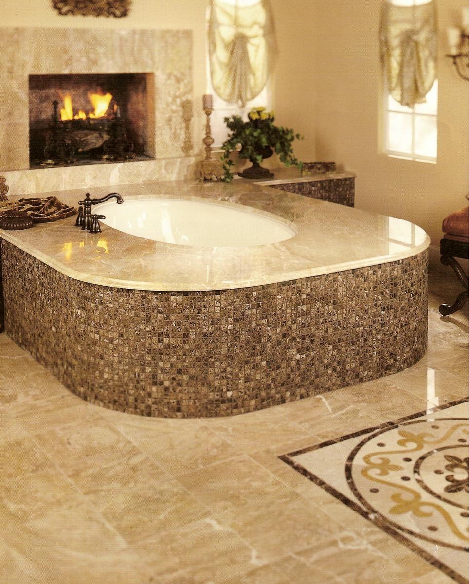 Granite Bathroom Floor Tiles For Girls Bath Elegant Bath