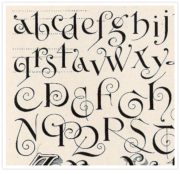 calligraphy | scribal arts | Calligraphy alphabet, Lettering