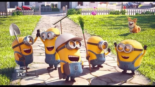 The Minions Are Back In An All New Short Mower Minions