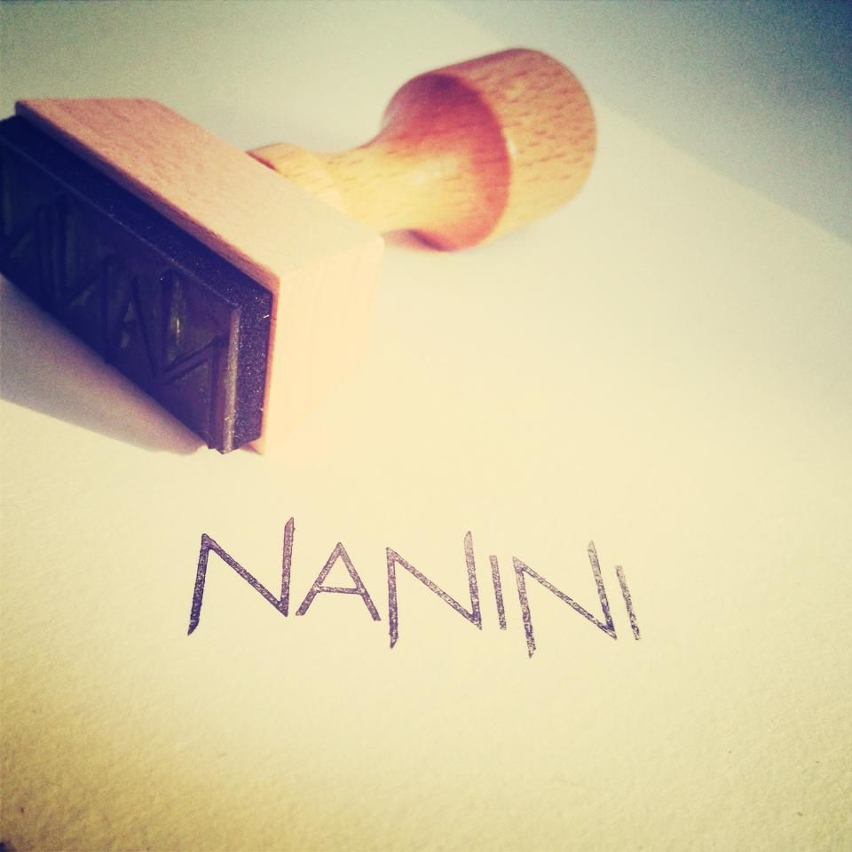 My Logo Stamp Nanininl Creative Jewelry Design Handmade