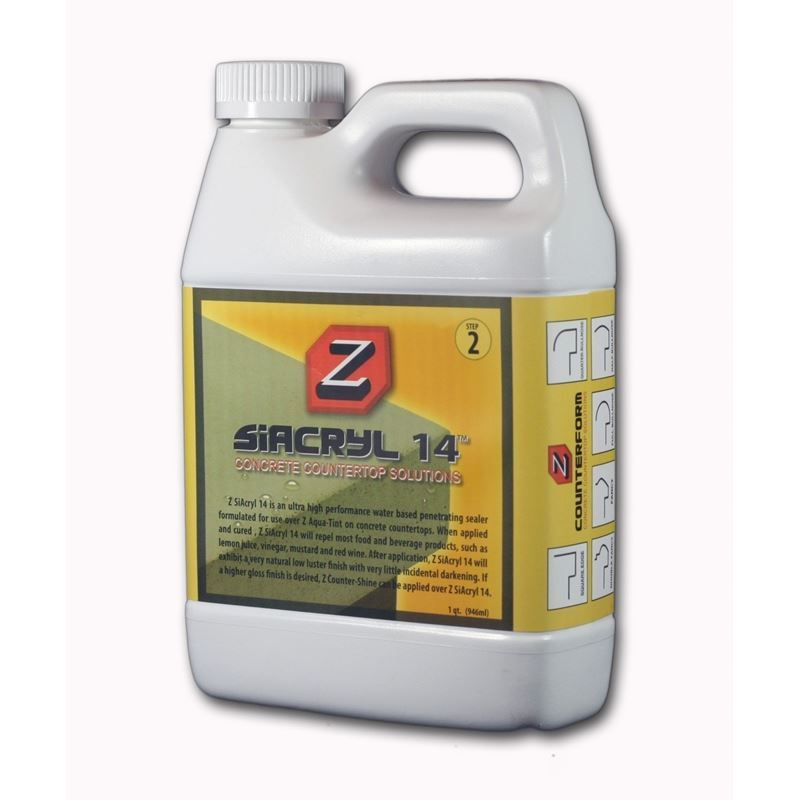 Z Siacryl 14 Sealer Concrete Sealer White Concrete