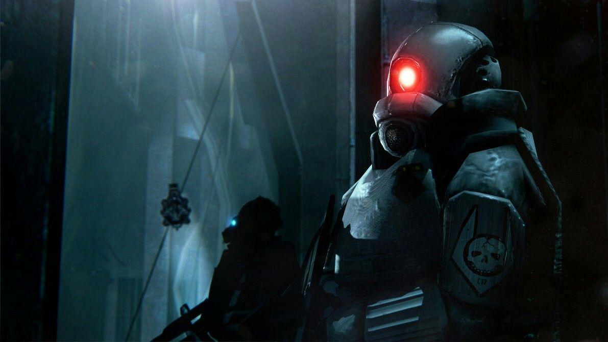 Half Life 2 Combine Elite Dark Void By Dp Films Half Life Dark Void Life