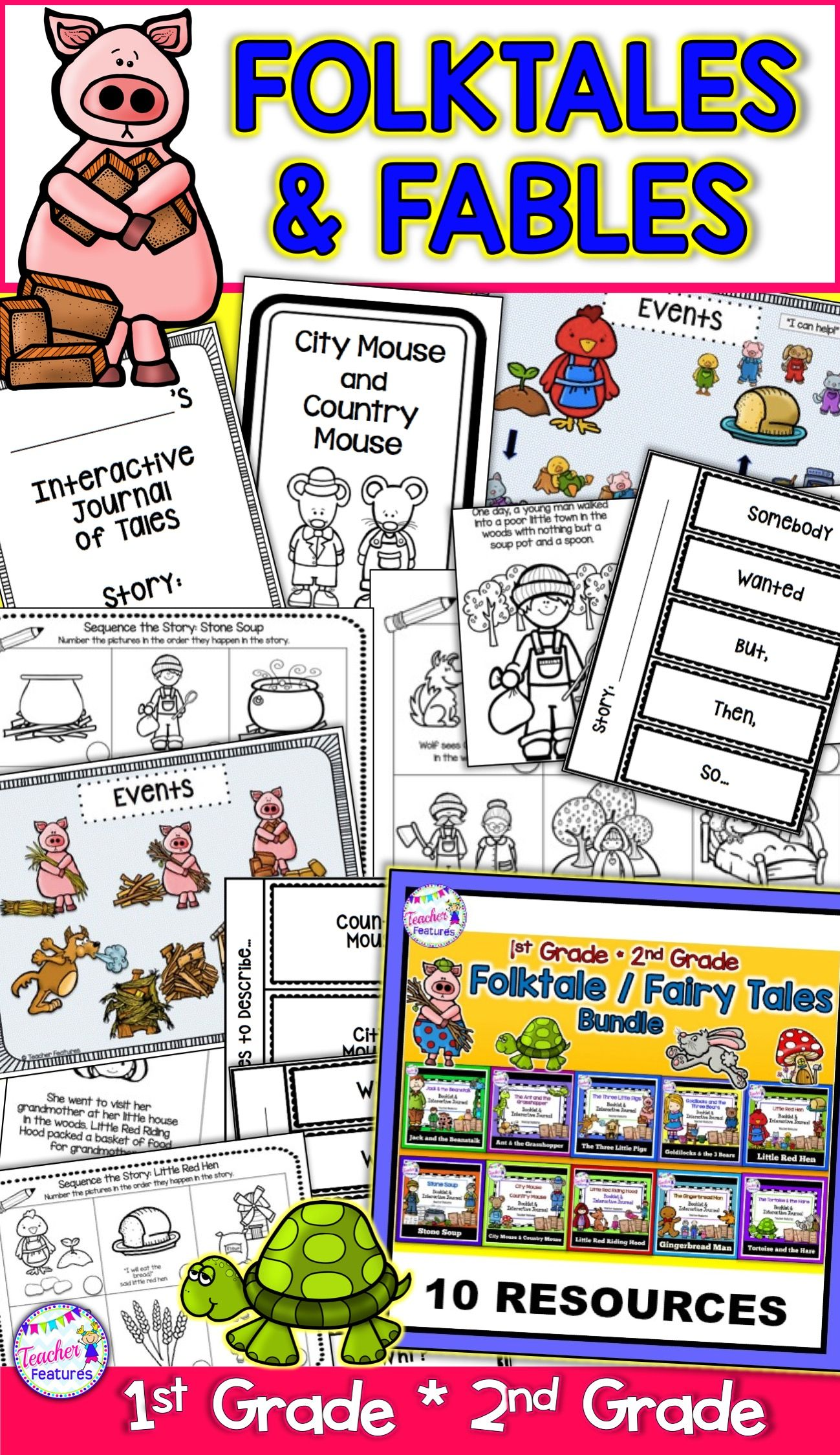 Fairytales Fables And Folktales Activities For Common